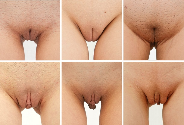 tickle her labia clit video